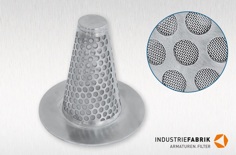 Hat Screens Type H Conical Temporary Strainers