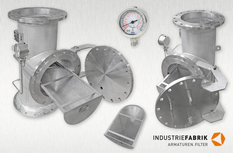 T Type Strainers Industriefilter Siebkorbfilter