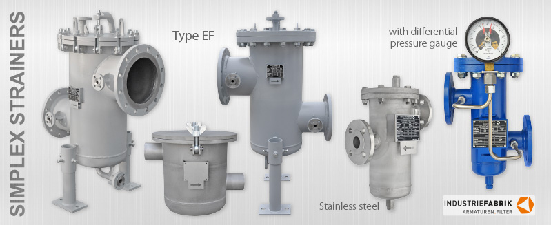 simplex type strainer ef stainless steel manufacturer