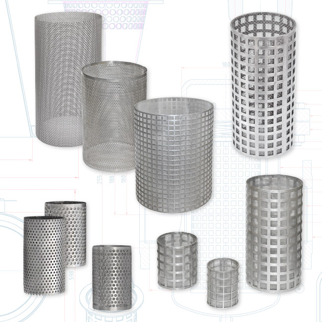 Manufacturer Screens Sieves Conical Temporary
