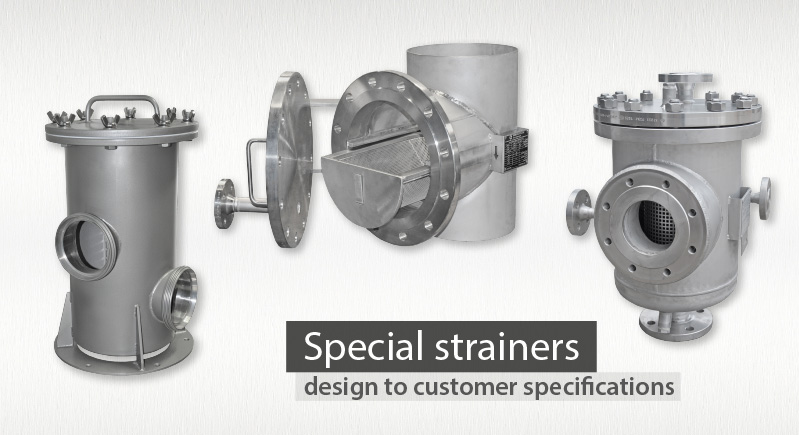 special basket strainers manufacturer supplier