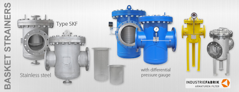 Basket type strainers SKF manufacturer