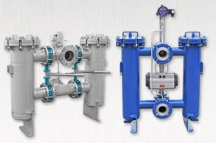 Doppelfilter manueller / automatischer Wechselbetrieb