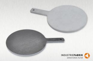 Steckscheiben (Blindscheiben) DN125 PN16, Typ BS, Stahl / Edelstahl