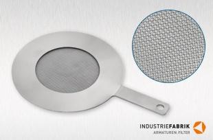 Plug-in sieves Type S, Stainless steel, Edelstahl, MS 1 mm
